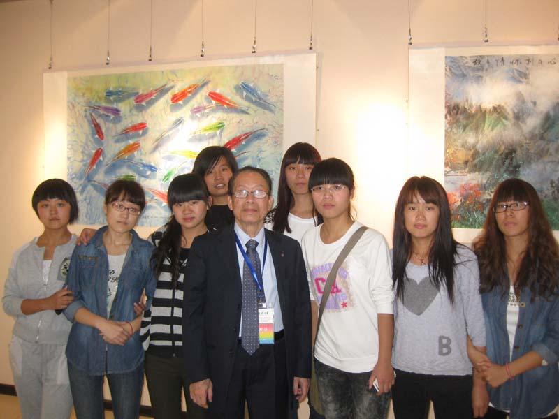 杨希雪作品河北名族学院展览