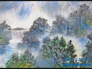散点透视山水研究大型山水画欣赏一