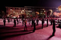 """""""广场舞"""":群众文化活动的一个亮点"""